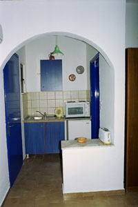 the small Kichen some rooms have also oven,all rooms have electric boiler for hot water ,and toasters