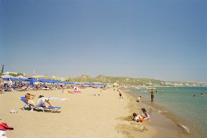 faliraki beach The best Holiday resort for Families and Cooples and night life as well