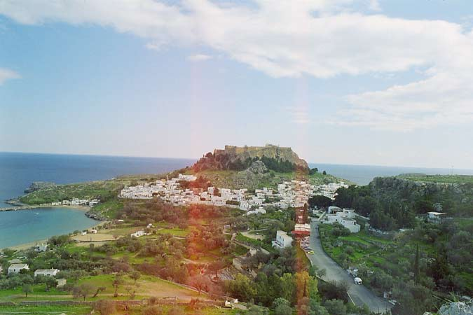 The city of Lindos ,Rhodes ISLAND Greece,Lindos stand ,insel Rhodos Griechenland