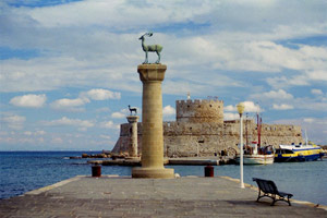 the city of Rhodos